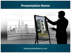 Download #free #Architect #PowerPoint #Template for your #powerpoint #presentation. This #free #Architect #ppt #template is used by many professionals.