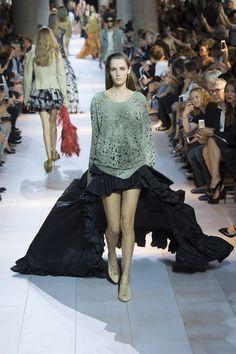 Roberto Cavalli Spring 2016 Ready-to-Wear Fashion Show - Vanessa Moody