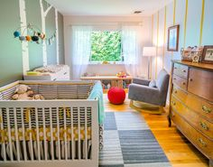 unisex baby room neutral colors and Room Nursery Themes, Nursery Room, Kids Bedroom, Nursery Ideas, Project Nursery, Nursery Decor, Room Kids, Aqua Nursery, Child Room