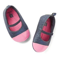 Carter's Soft-Sole Glitter Mary Jane Shoe