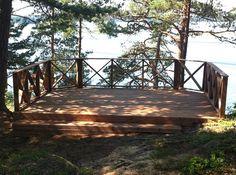 Garden Bridge, Cosy, Cottage, Outdoor Structures, Cabin, Outdoor Decor, Frames, Houses, Home Decor