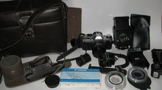 Canon AE-1 4048310 50  28 MM Lens Camera  by PortraitsandPresents