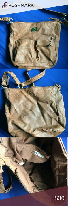 Roxy Purse Roxy Purse.. Like new, big over the shoulder bag. Roxy Bags Shoulder Bags