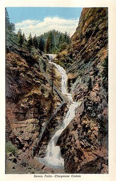 Seven Falls--Colorado Springs, Co sanderton