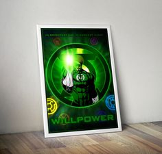 The Lantern Corps  Willpower 24x36 by FPArtistry on Etsy