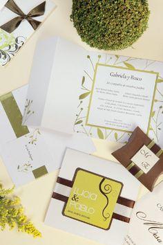 #Bodas #Matrimonio #Novias |Invitaciones con sello propio - Novias