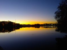 Lokakuisena aamuna Töölönlahdella