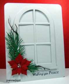 Peaceful Window by jojot - Cards and Paper Crafts at Splitcoaststampers CAS 251