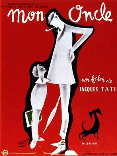 Rediscover the trailer for My Uncle punctuated with the secrets of filming and anecdotes about this film. ☞ Mon oncle is a French film directed by Jacques Mon Oncle Tati, Mon Oncle Jacques Tati, Films Cinema, Cinema Posters, Comedy Films, Vintage Movies, Vintage Posters, French Posters, Francois Truffaut