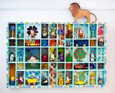 Could someone please make me one - so I can hang it in my sons room, filled with loads of lego and cars ;-)