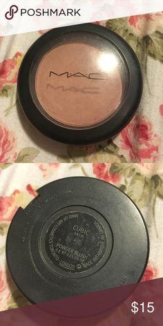 MAC cubic blush Good for fair and light skin very nice matte nude pink MAC Cosmetics Makeup Blush