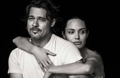 Angelina Jolie and Brad Pitt for Vanity Fair Italia