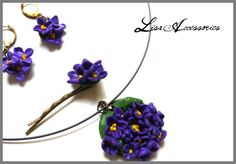 Set Flori de liliac Lisa, Shop, Handmade, Jewelry, Fashion, Hand Made, Jewellery Making, Moda, Jewerly