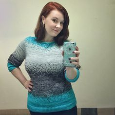 Ravelry: Pixelated Pullover pattern by Jennifer Beaumont