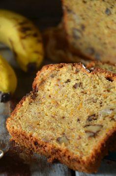 Proste ciasto marchewkowe z bananami - niebo na talerzu Shake, Banana Bread, Recipes, Food, Smoothie, Rezepte, Food Recipes, Meals, Recipies
