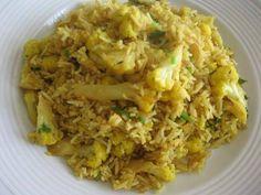 Indian Recipes - Cauliflower Pulao