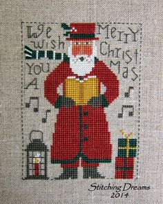 2014 Prairie Schooler Santa with color changes from original pattern