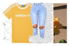 """""""Dust"""" by oshonsparkles ❤ liked on Polyvore featuring adidas and adidas Originals"""