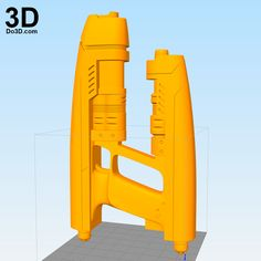 3D Printable Model: Star-Lord Gun Rifle Blaster from Guardians of the Galaxy | Print File Formats: STL OBJ – Do3D.com