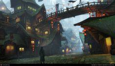 CGTalk - GreenShadow Town, Yang Bo (3D) Bjútifull :-))) Szépek a színek és a fények :-)