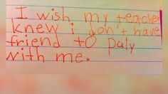 Colorado Teacher Shares Heartbreaking Notes From Third Graders - ABC News