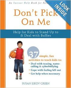 Don't Pick On Me: Help for Kids to Stand Up to and Deal with Bullies (Instant Help) Social Work Books, New Books, Books To Read, Bullying Posters, Feeling Left Out, Enrichment Activities, Bullying Prevention, Name Calling, Aleta