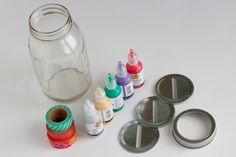 Mason Jar Money Bank Supplies
