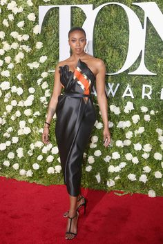 Condola Rashad in Vivienne Westwood and Fred Leighton jewelry