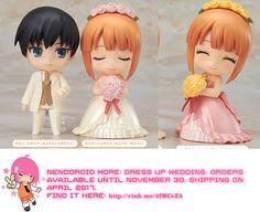 Kawaii Nendoroid More: Dress Up Wedding   #rinkya #japan #fromjapan #nendoroid #kawaii
