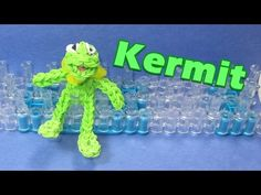 ▶ Rainbow Loom Charms: KERMIT the FROG - How to Tutorial (DIY Mommy) - YouTube