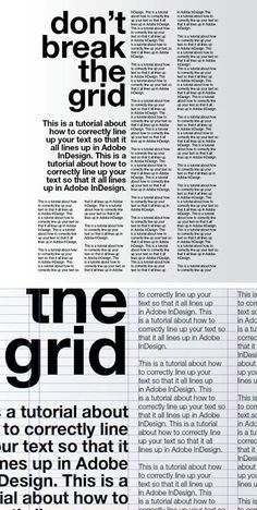 The typographical hierarchy in this is evident, and it does a good job of leading the eye through the composition with sizing and font alterations without using different colors. Graphic Design Tips, Grid Design, Graphic Design Typography, Graphic Design Inspiration, Editorial Design Magazine, Magazine Layout Design, Editorial Layout, Configurations De Grille, Hierarchy Design