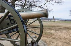 Gettysburg Battlefield, Cannon, Pennsylvania, Guns, Weapons Guns, Weapons, Pistols, Firearms, Arms