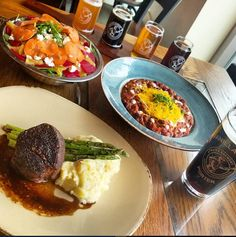 During Beer Month, experience Cool Brews. Hot Eats: food and beer pairing specials at many participating restaurant locations.
