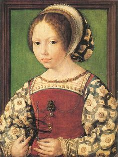 Thought to be Jacqueline de Bourgogne by Jan Gossaert, c.1530. (National Portrait Gallery, London)