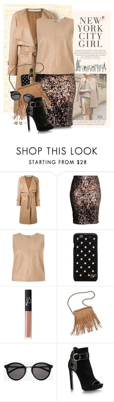 """""""Pack for NYFW - II"""" by fashion-architect-style ❤ liked on Polyvore featuring Drome, H&M, Miss Selfridge, Diane Von Furstenberg, NARS Cosmetics, Patchington, Yves Saint Laurent, women's clothing, women and female"""