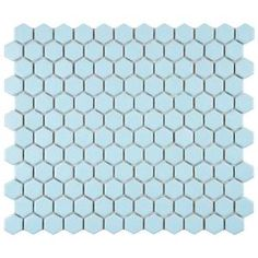 Merola Tile, Metro Hex Matte Light Blue 11-3/4 in. x 10-1/4 in. x 5mm Porcelain Mosaic Floor and Wall Tile (8.54 sq. ft. / case), FXLM1HML at The Home Depot - Mobile