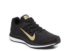 huge discount ba974 9bf48 Women Zoom Winflo 5 Running Shoe - Women s -Black Gold Nike Gold, Nike