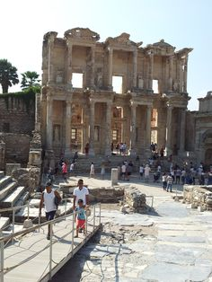 Celsus Library, Ephesus, Turkey. (My overdue fines were through the roof!) August 2015