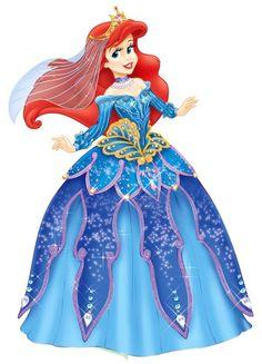 ©Disney Last summer. I make handmade books for disney about six Princess. The handmade books about chang colthes . I like Ariel. Disney Pixar, Disney Fan Art, Disney And Dreamworks, Disney Characters, Disney Dream, Cute Disney, Disney Style, Disney Magic, Disney Little Mermaids