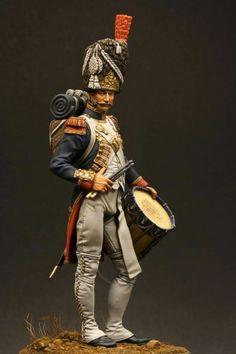 Tamburo dei granatieri della guardia imperiale francese