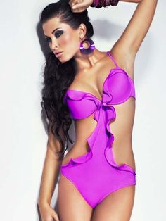 Meriell 2014 Lollipop Monokini Swimsuit