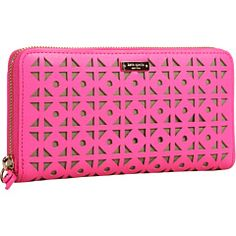 Cute Kate Spade wallet. Makes me think of mexican wedding flags.
