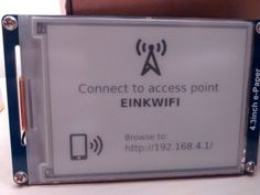 [David] created a great looking e-ink WiFi display project that works a little like a network-connected picture frame with a few improvements over other similar projects. With the help of an ESP8266 ...