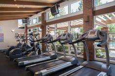 Gym | #rentthehomestead #apartments #fullerton