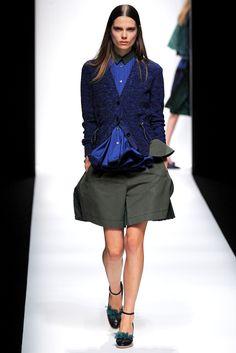 Sacai Spring 2013 Ready-to-Wear Fashion Show - Caroline Brasch Nielsen (Elite)