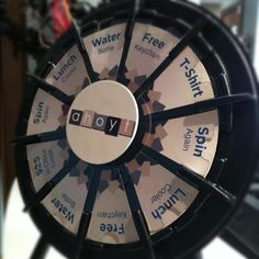 Patient Appreciation Day! Spin the Wheel and win a prize! Buy this Prize Wheel at http://PrizeWheel.com/products/tabletop-prize-wheels/micro-prize-wheel/.