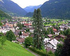 Where I learned to ski.  Oh the memories.  Shruns, Austria!