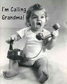 I love being a grandma!