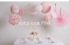 Acheter ce décor rose pour une fête de fille
