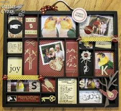 Love these 7 Gypsies Print Trays - especially when they are decorated with such cute stuff.